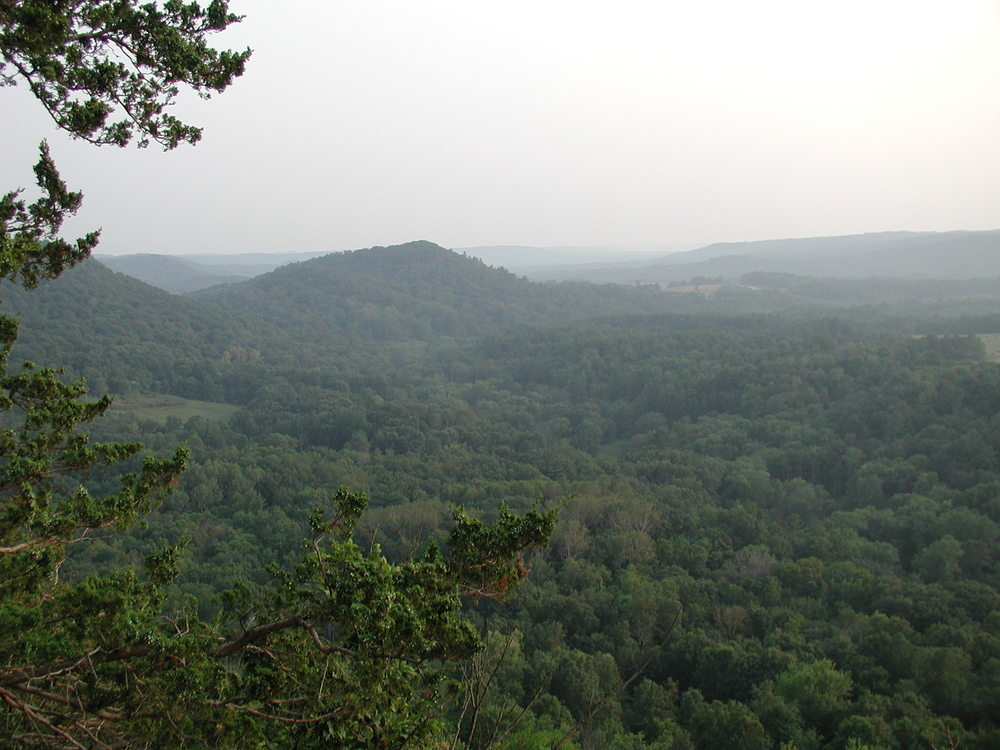 The Driftless Area in Wisconsin