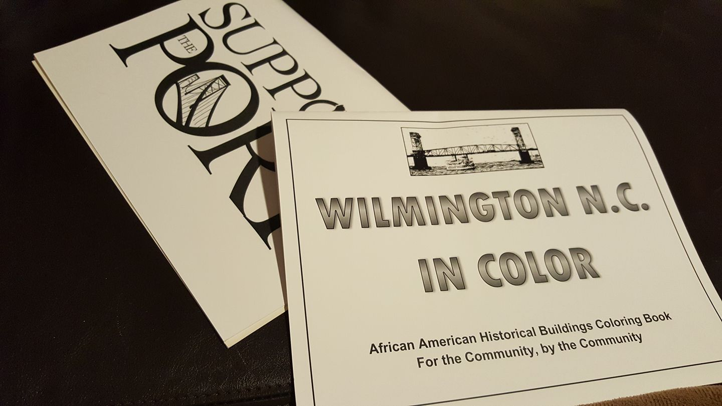 The coloring book tour opener - Wilmington In Color Book Tour