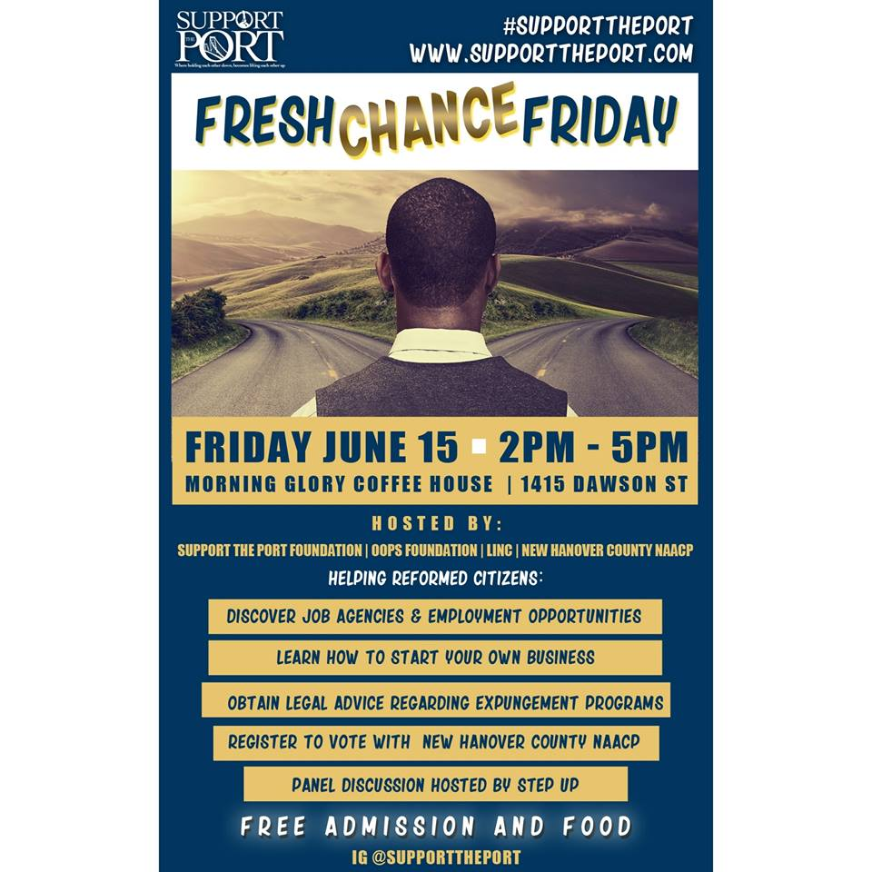 Fresh Chance Friday — Support The Port