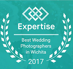 Honored to be named one of the top 20 wedding photographers in wichita for 2016 and 2017!