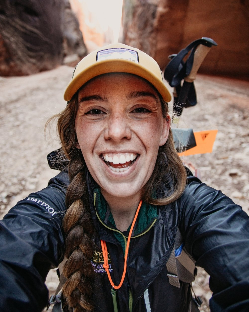 I LOVE backpacking! This is from when I backpacked all of Paria Canyon in Utah/Arizona. It was amazing! [I'm also a Wilderness First Responder - holla]