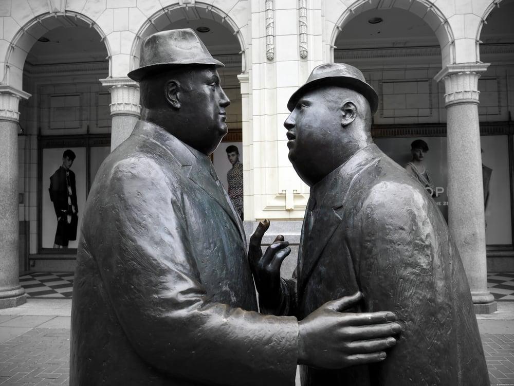 The Conversation, oilmen, Calgary, AB