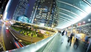 hong kong central elevated walkways