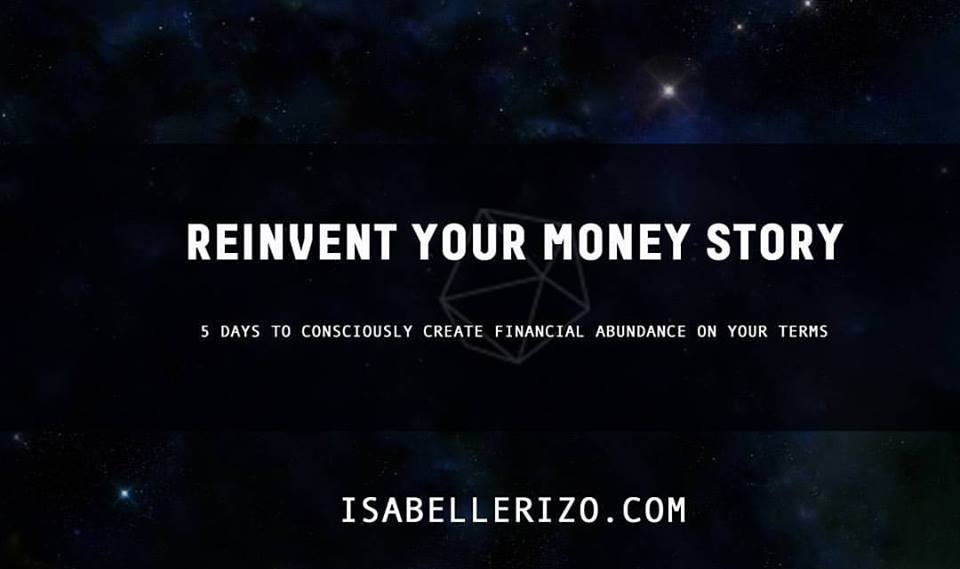 ReInvention: The Money Story Book available for purchase for Patreon supporters at patreon.com/isabellerizobvp