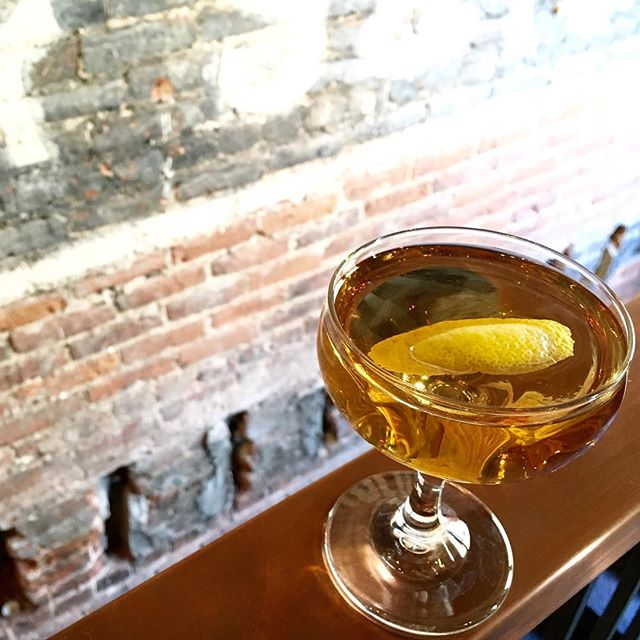 The sun is shining. Let's celebrate with a #cocktail. We open at 4:00!  #finally #craftcocktails #spirits #craftspirits #scratchmade #drinklocal #drinkwell #tgif #kalamazoo #downtownkalamazoo #principlefoodanddrink #cheers