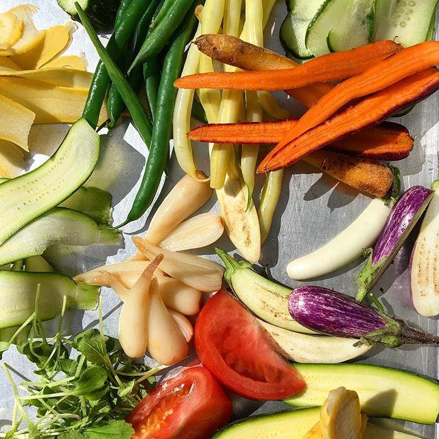 Summer freshness is here!!! #vegetables #vegetarian #summervegetables #gardengoodness #garden #farmersmarket #downtownkalamazoo #downtownmall #principlefoodanddrink