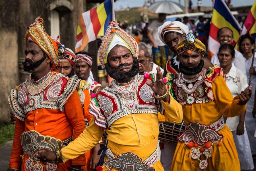 Adhi Binara's parade in Galle (Sri Lanka)