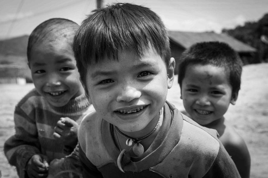 Kids of Luang Nam Tha