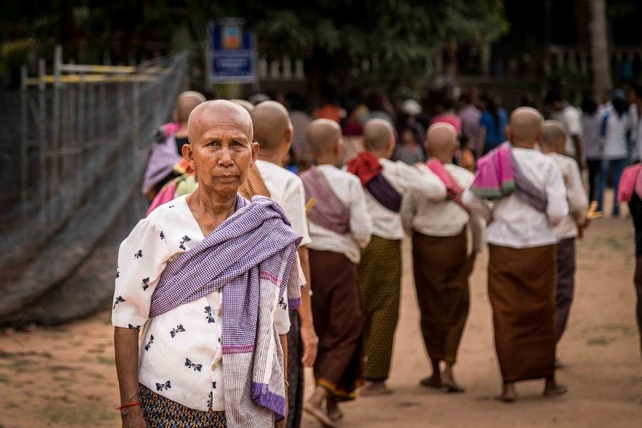 Cambodian Buddhist Nun