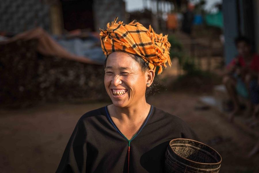 Pa Oh woman in Myanmar
