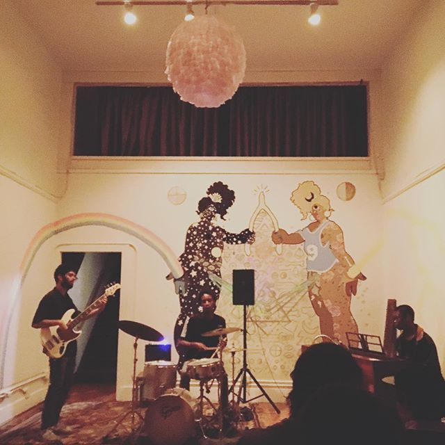Thank you! #OaklandFreedomJazzSociety and #OpenSorcerer for a lovely evening. #Live #Jazz #StudioGrand #Oakland #Good #Music