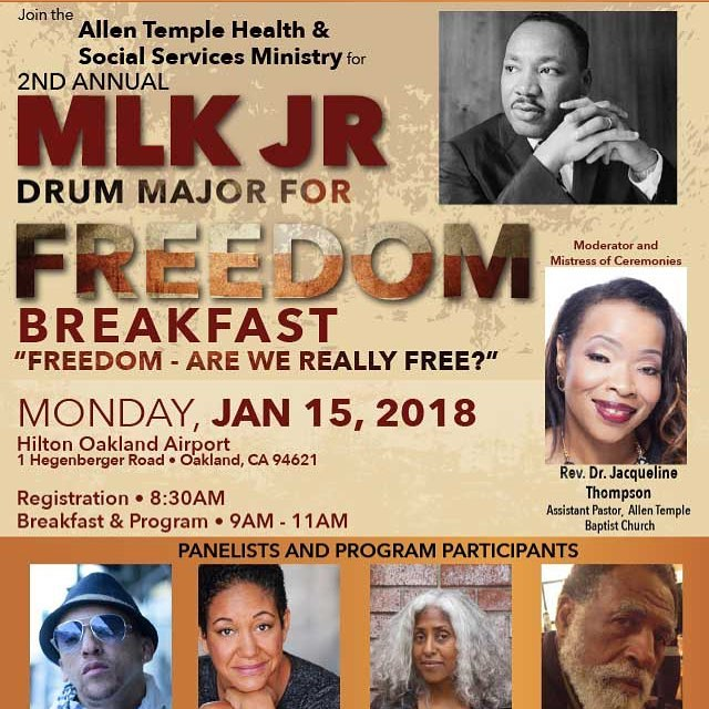 On Monday 1/15 we not only celebrate the life and legacy of Civil Rights leader Dr. Martin Luther King,Jr., we also get to share the stage and learn from an amazing group of people. We hope you can join us! See flyer for details. #MLK
