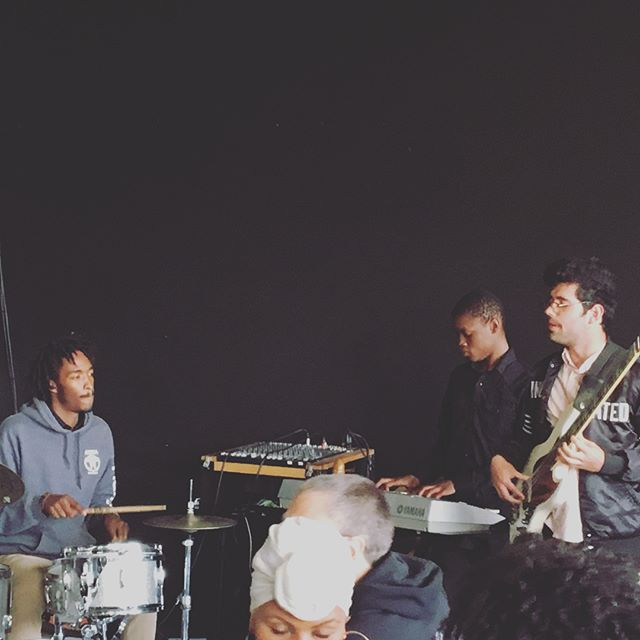 Thank you @KALW, @RedBayCoffee, and @MsRyanNicole for inviting us to play for tonight's #SightsandSounds #OFT3