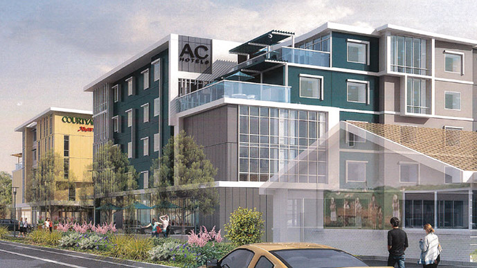 AC/ Courtyard by Marriott, Palo Alto