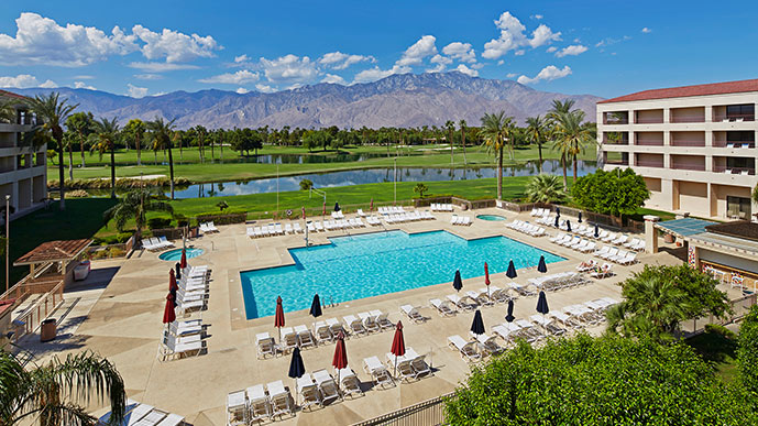 Double Tree Palm Springs Golf Resorts, Palm Springs