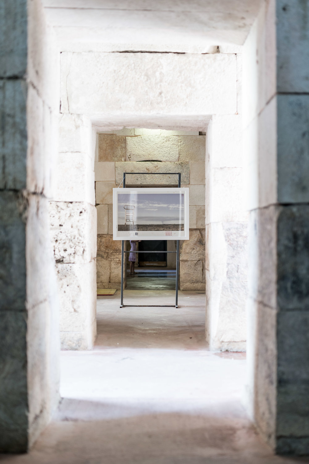 Installation in the Diocletian palace rooms