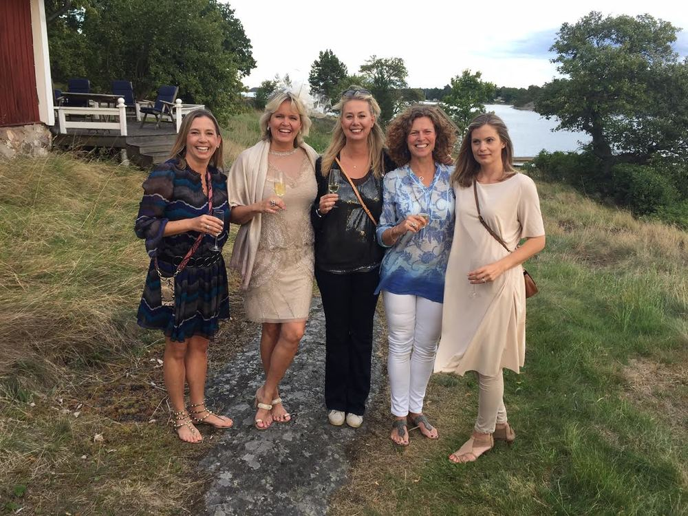 All Mrs Mabons; Angela, Wivica, me, Therese & Astrid