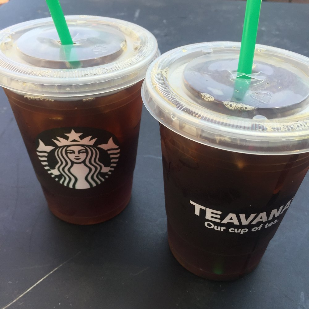 Ice Tea Starbucks 2016