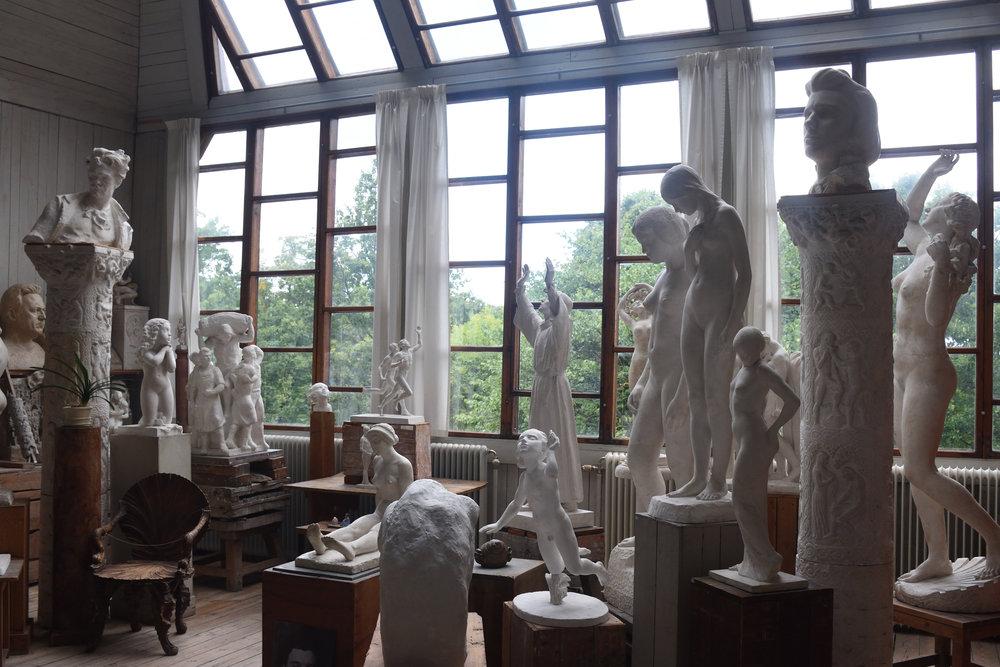 Carl Eldhs Ateljemuseum, 2016