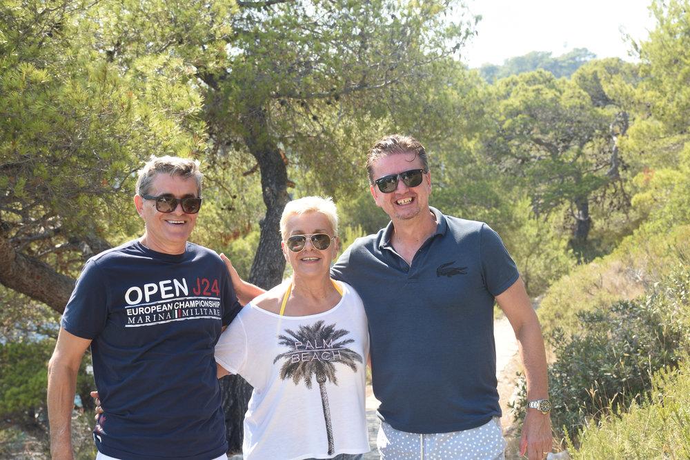 Ismet, Ditta & Bojan