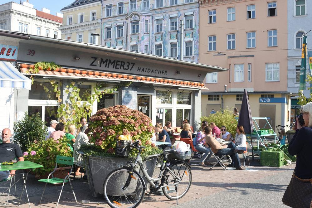 Karmelitemarkt, Vienna 2016