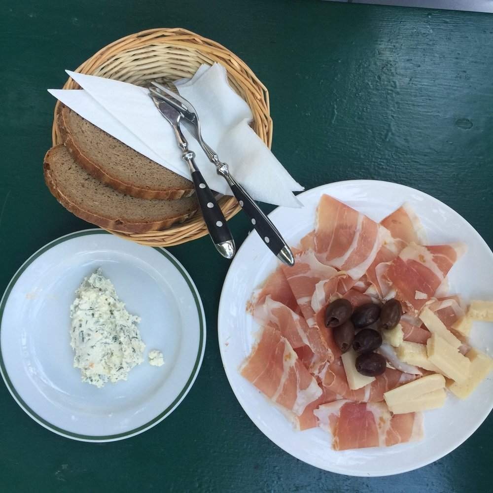 Cold cuts in Grinzing, Vienna 2016
