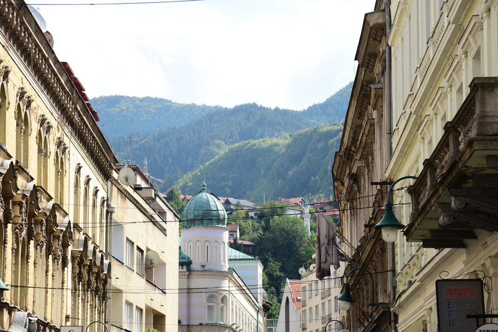 Sarajevo city view, 2015
