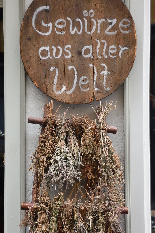 Krämerbrü  cke, Erfurt, Germany 2016