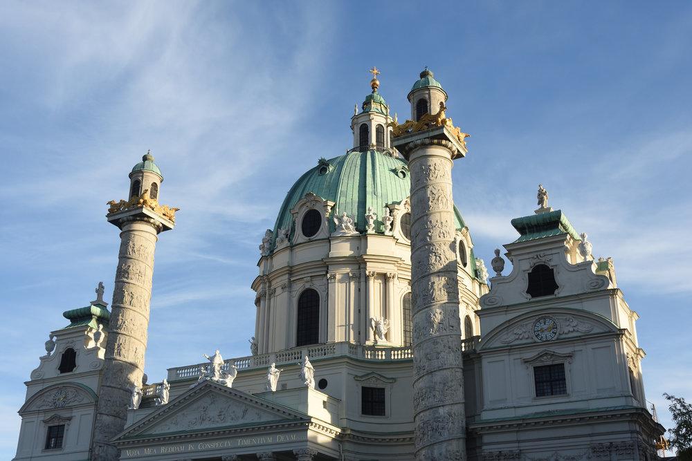 Karlskirche, Vienna 2016