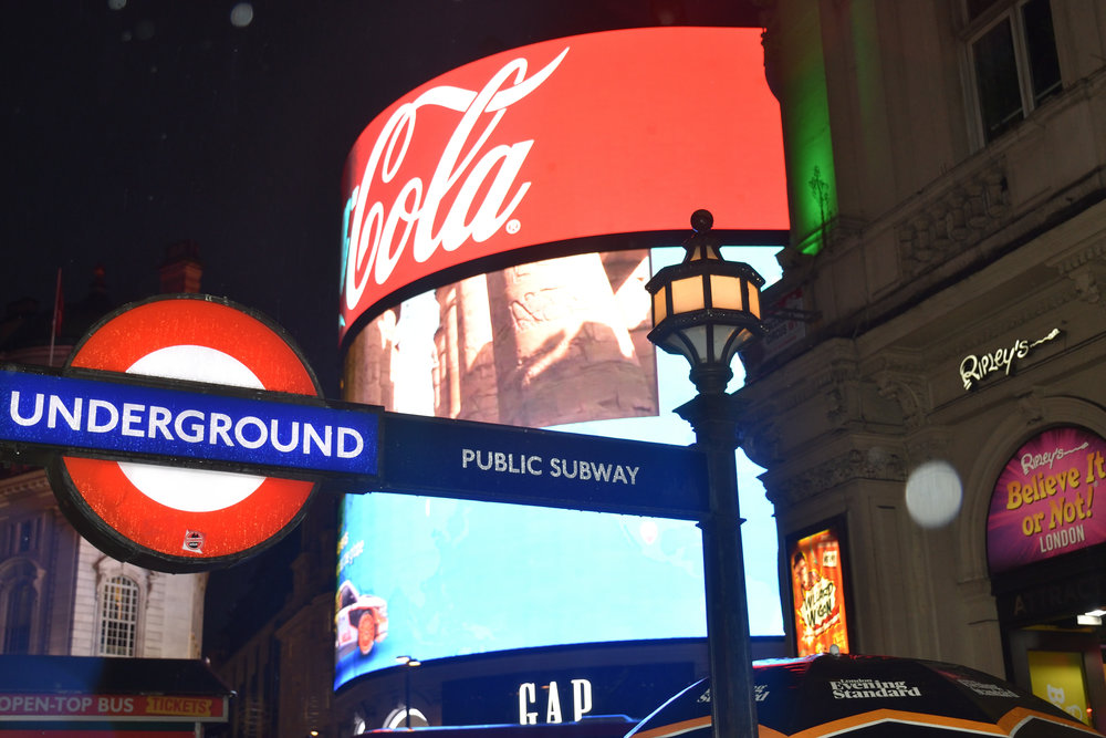 Picadilly Circus, London 2016