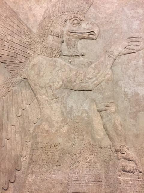 Eagle-headed Protective Spirit, British Museum, London 2016