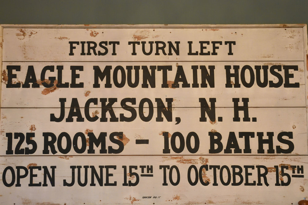 Eagle Mountain House, Jackson N.H. 2016