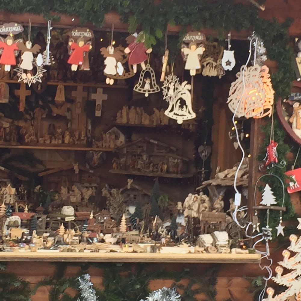 Christmas Market, Munich Airport 2016