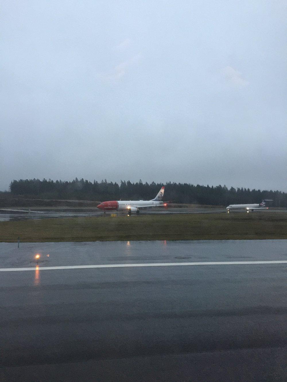 Leaving a grey Stockholm
