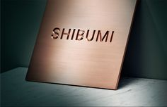 1) Shibumi