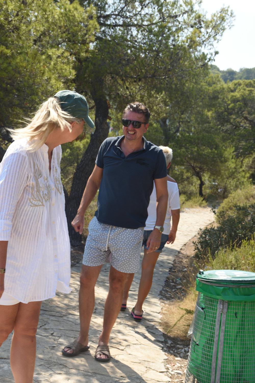 Bojan and me at Paklinski Island, Croatia 2016