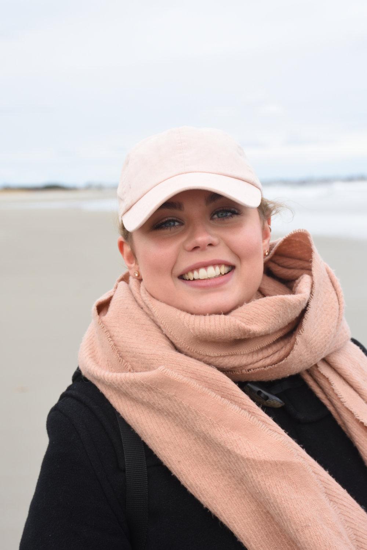 Gabriella at Ogunquite beach, Maine 2016