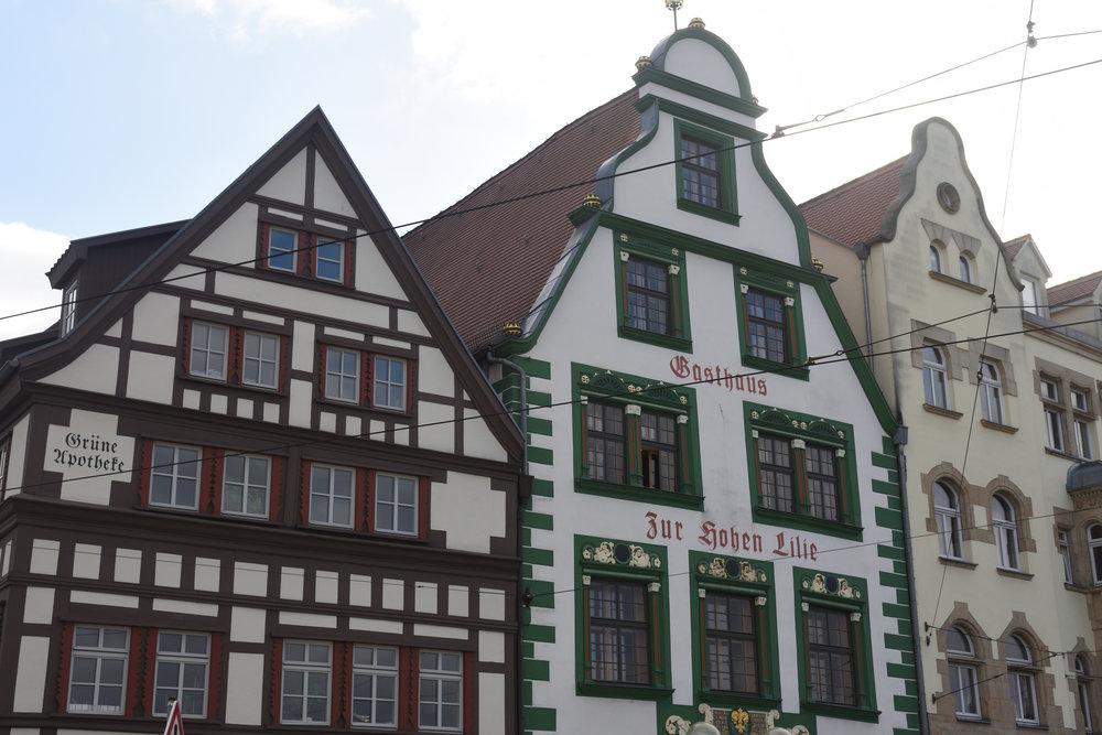 Erfurt, Germany autumn 2016