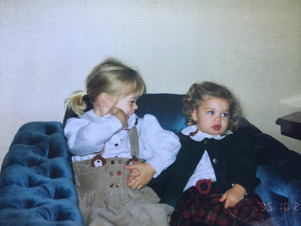 Mimmi och Gaby Uddevalla 1995