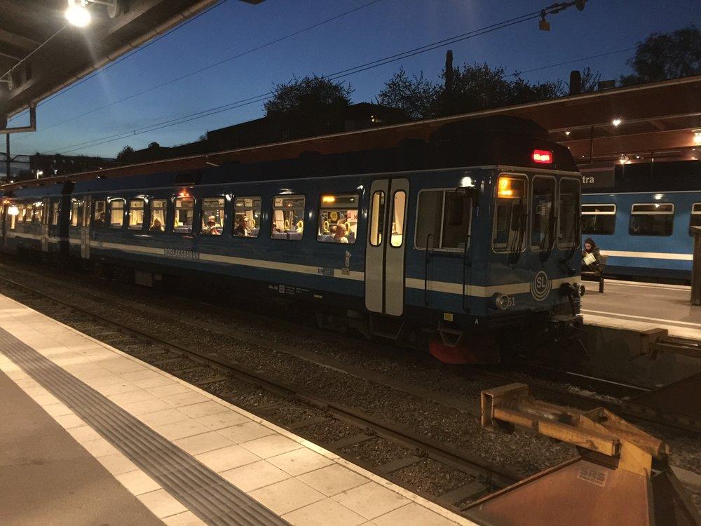 Roslagsbanan, Stockholm 2016