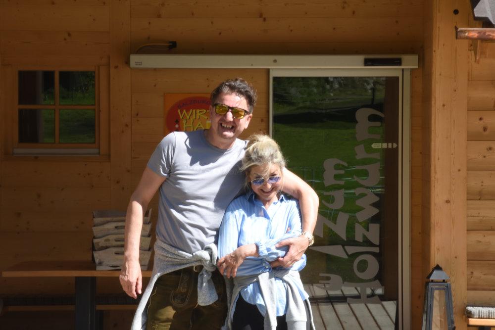 Bojan and Marina, Flachau, Austria May 2017