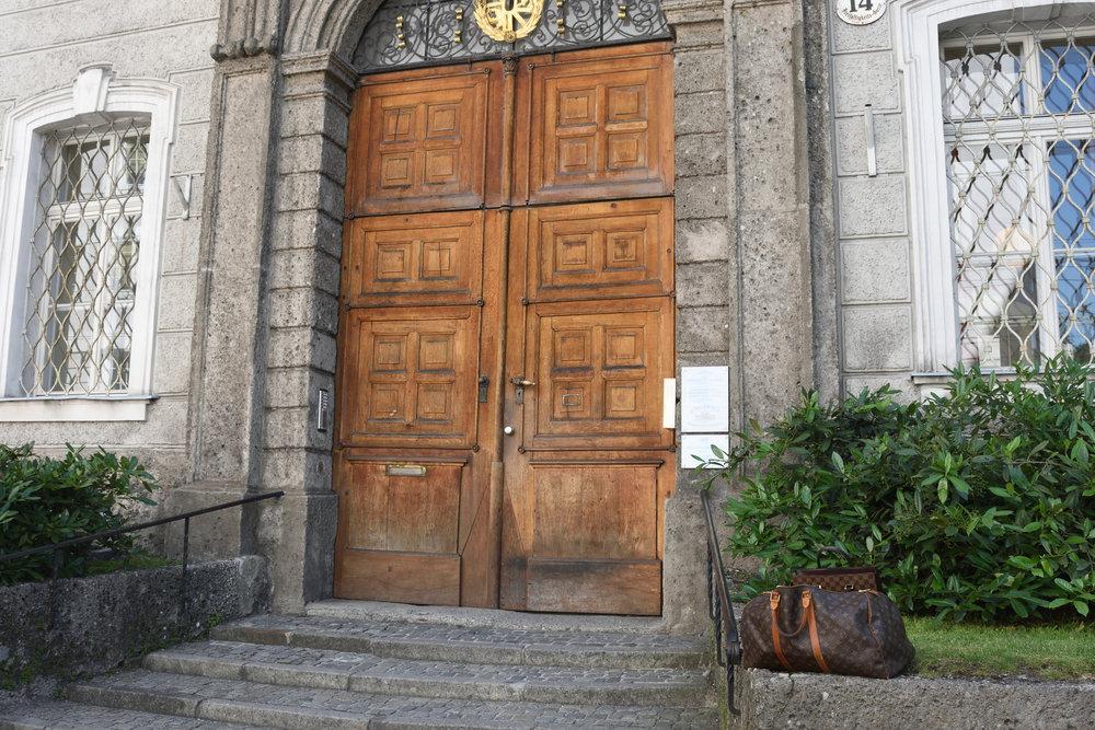 Gästehaus Priesterseminar Salzburg, June 2017
