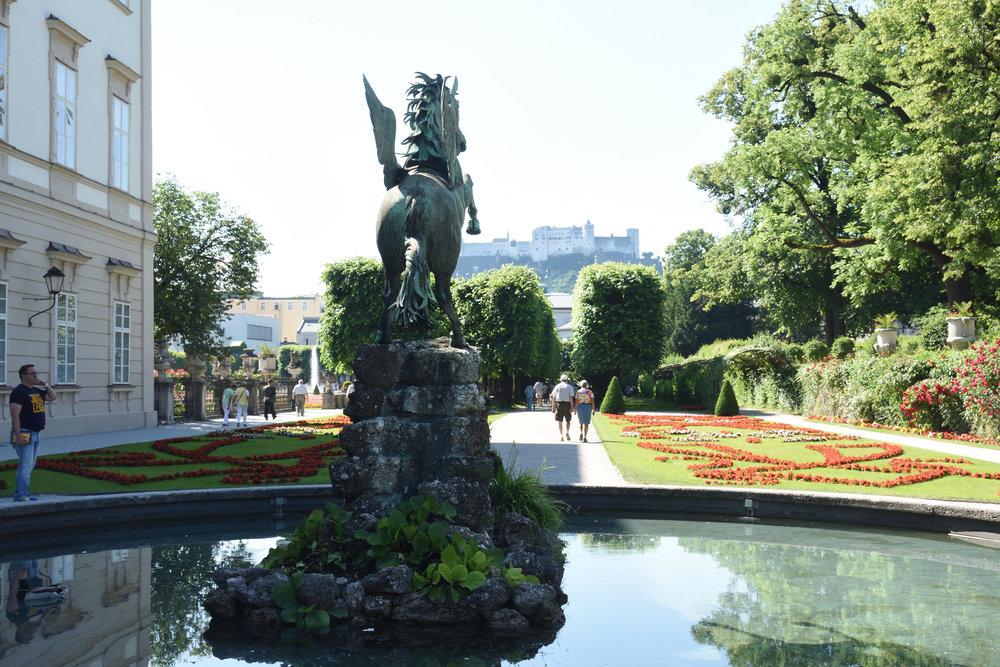 Schloss Mirabell, Salzburg, June 2017