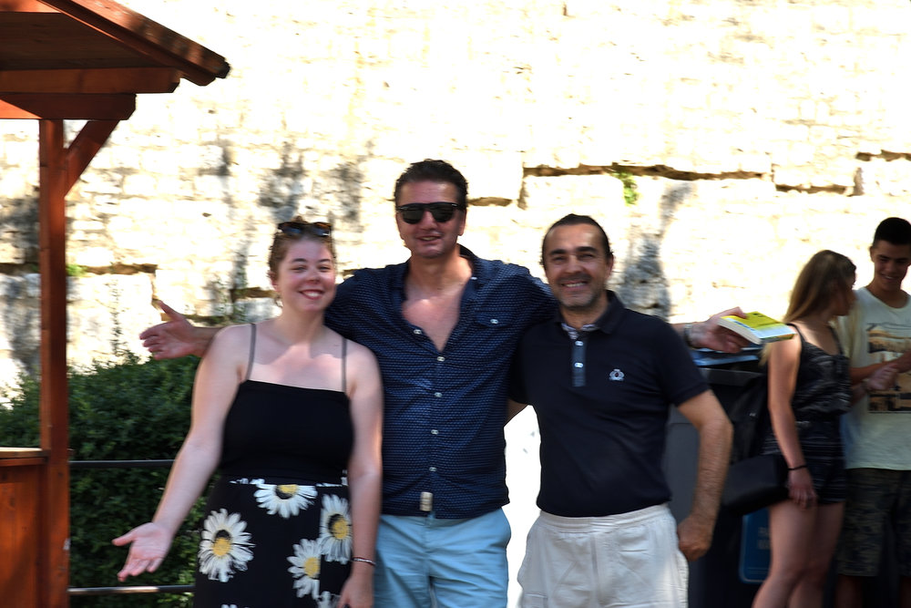 Mimmi, Bojan & Emir, Pula, Croatia July 2017