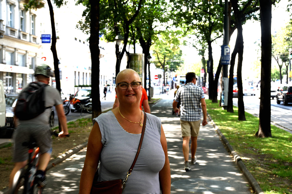 My dear sister, Vienna July 2017