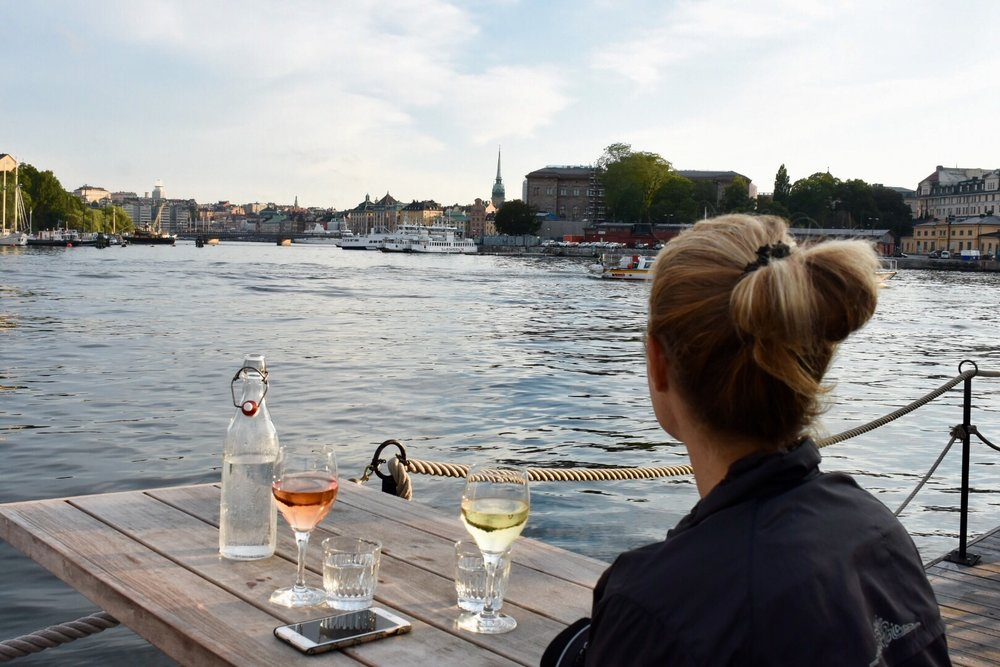 Ångbåtsbryggan, Stockholm, August 2017