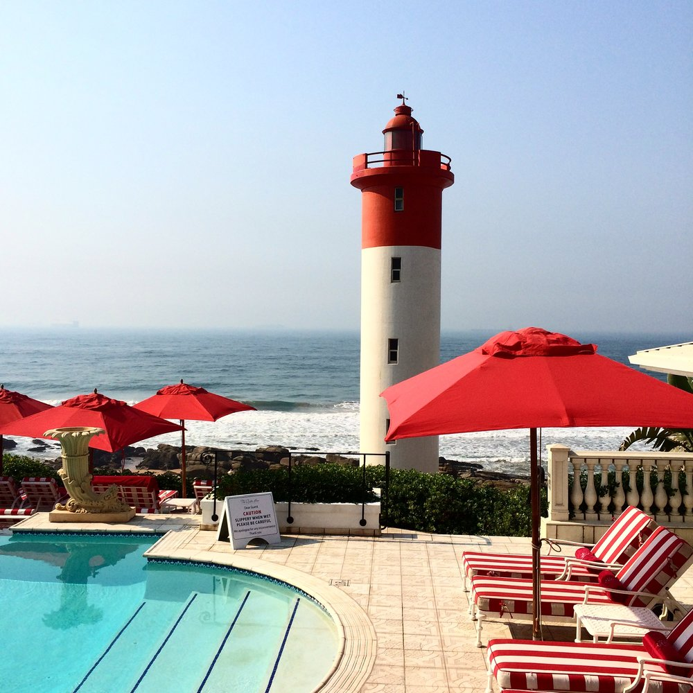 The Oyster Box, Durban, South Africa August 2014