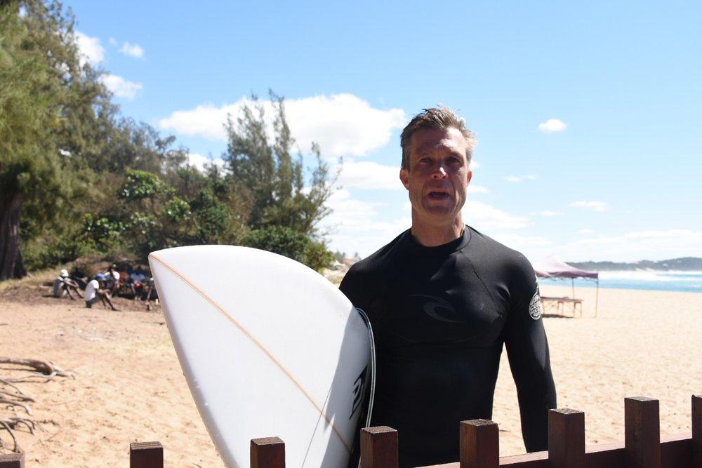 Jac in Ponta de Ouro, Mozambique, September 2017
