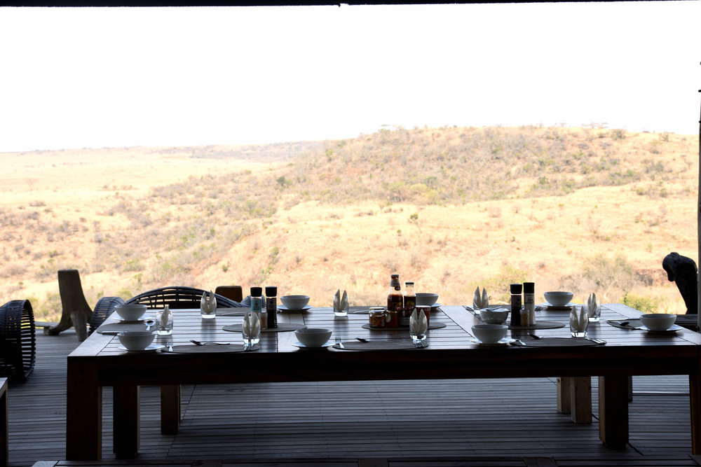 Idwala Lodge, Nambiti Game Reserve, South Africa, September 2017