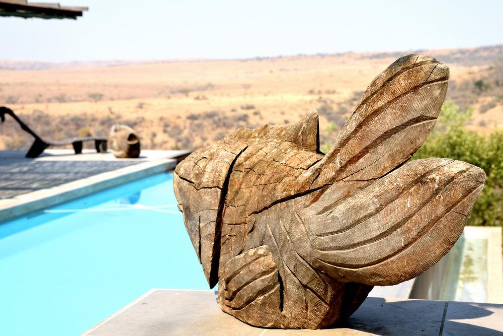 Idwala Lodge, Nambiti Game Reserve, South Africa, September 2017
